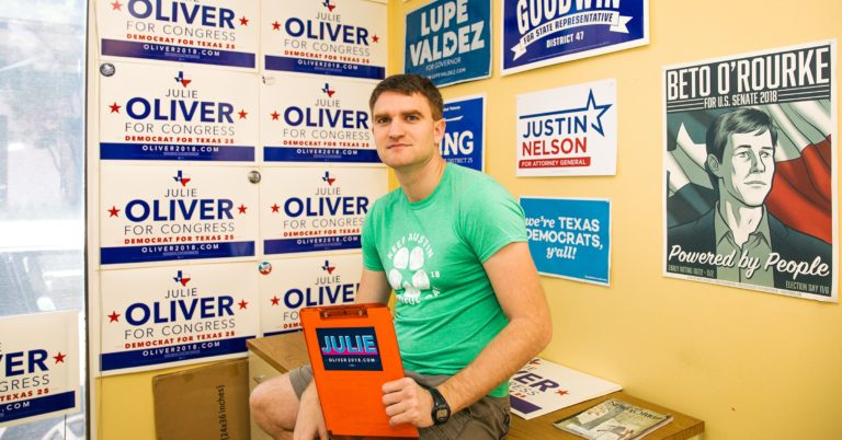 In Texas, Techies Are Trying to Turn the Red State Blue