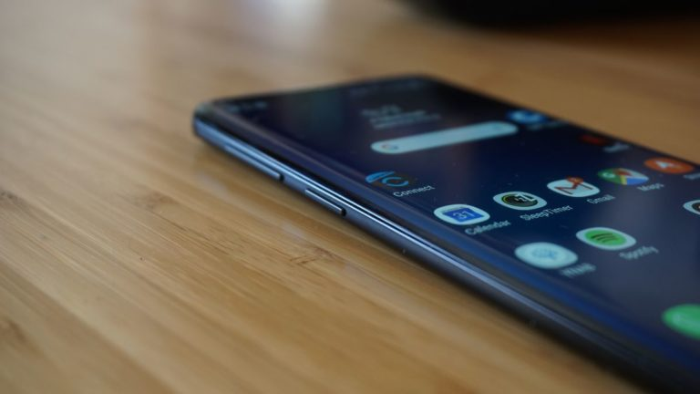 This Samsung phone may have a hole in the display and no notch
