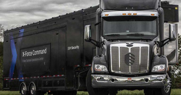 "IBM Built a Menacing Black Truck for ""Cybersecurity Incident Response"""