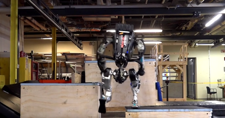 The Boston Dynamics Robot Atlas Is Now a Parkour Master
