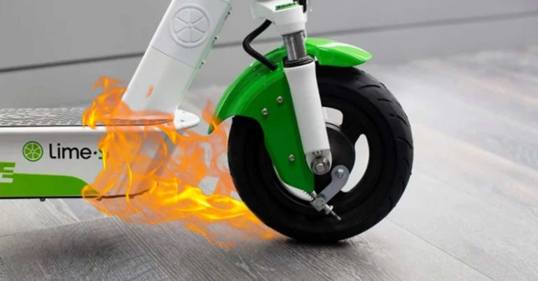 Lime Recalled Thousands of Scooters Because They Were Catching Fire