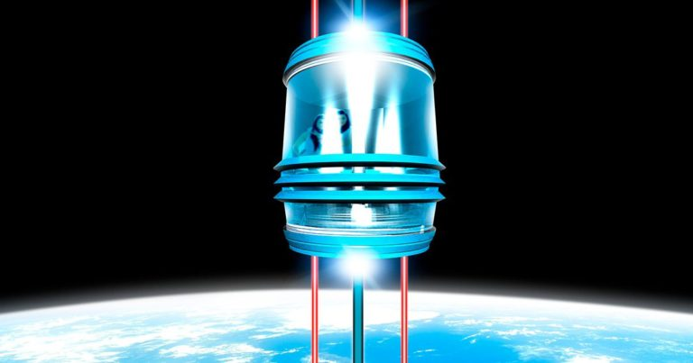 Scientists Say New Material Could Hold up an Actual Space Elevator