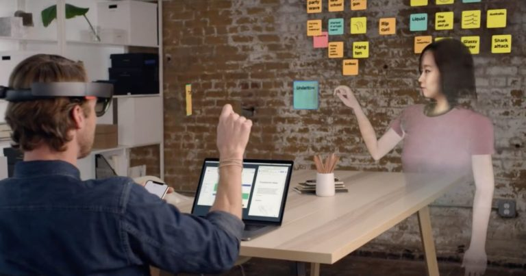 Incredible Augmented Reality Demo Conjures Up Ghostly Versions of Your Coworkers