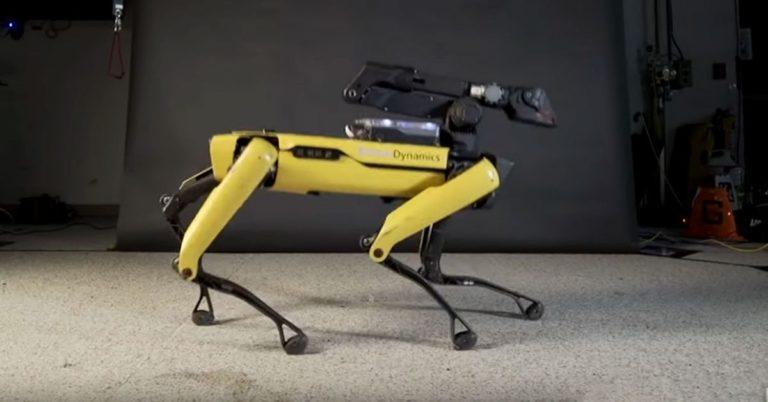"Watch the Boston Dynamics Robodog Twerk and Moonwalk to ""Uptown Funk"""