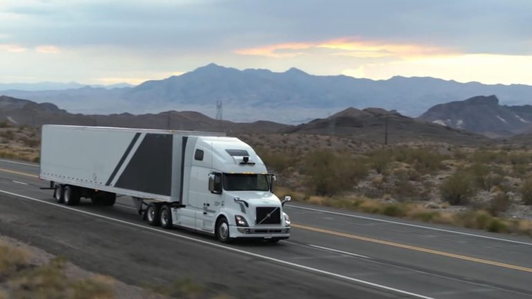 Uber's self-driving trucks hit the road in Arizona – Video