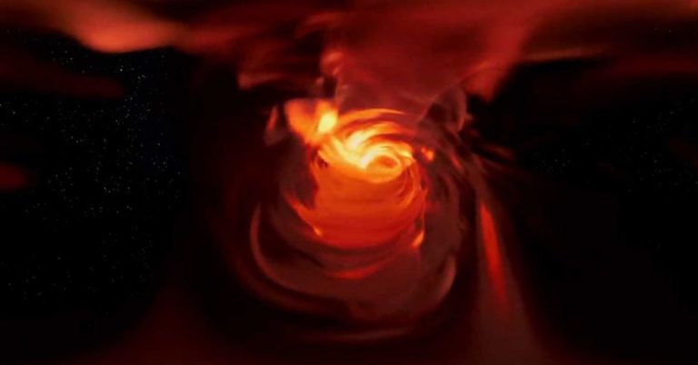 360-Degree Video Shows What It's Like to Fall Into a Black Hole