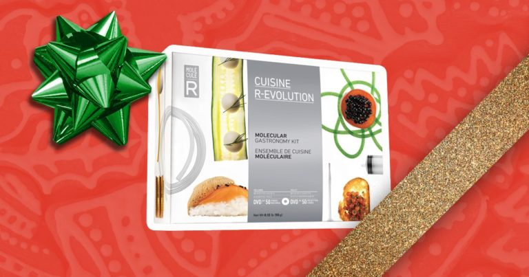 Molecular Gastronomy Kit: Fusing Food, Science, and Art