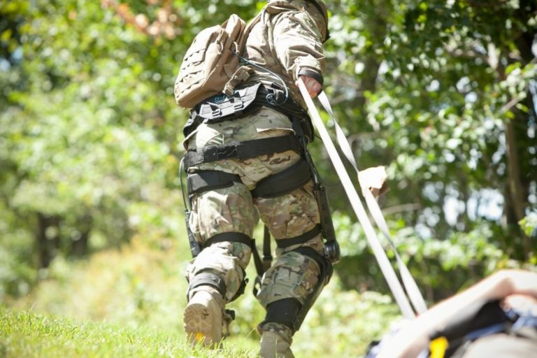 """The Military Is Investing Millions in Exoskeleton """"Super-Soldiers"""""""