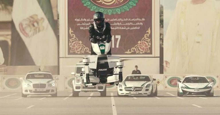 Dubai Police Are Training Officers to Fly Hoverbikes – Futurism