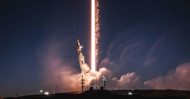 The FCC Just Approved SpaceX's Plan to Launch 7,518 Internet Satellites