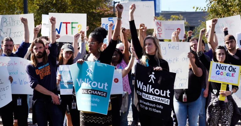Google Walkout Is Just the Latest Sign of Tech Worker Unrest