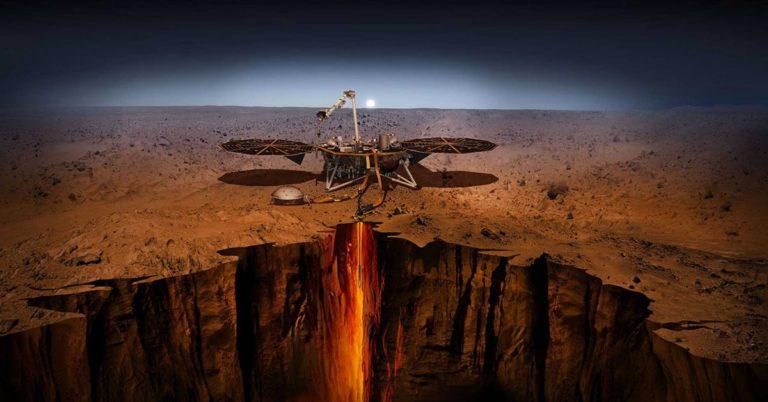 NASA's InSight Lander Just Landed on Mars