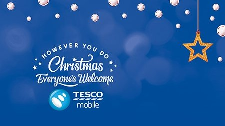 Tesco Mobile kicks off its festive season with phone contract discounts and freebies