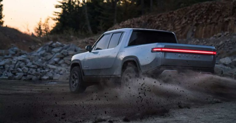 Rivian's Electric Truck Will Drop in 2020
