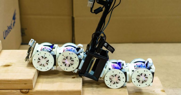 Watch This Remarkable Robot Transform Itself to Tackle Various Tasks