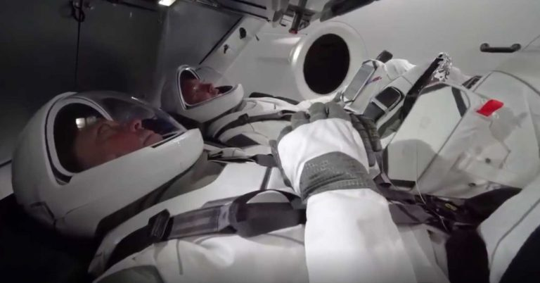 NASA Astronauts Put SpaceX Spacesuits to the Test
