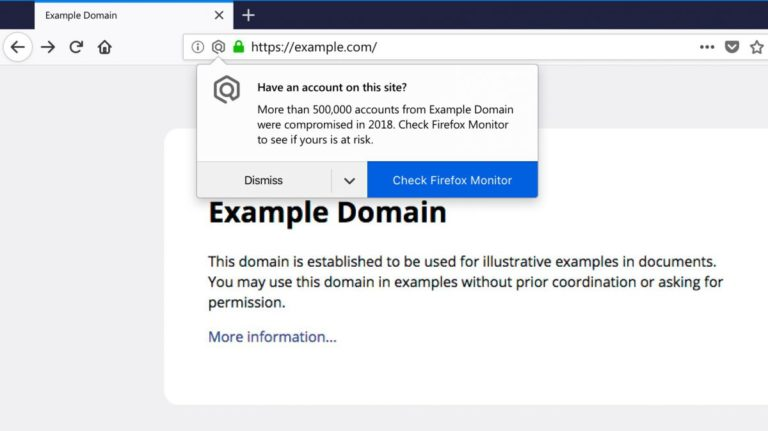 Firefox Monitor 2.0 gives you desktop notifications if a site suffers a data breach