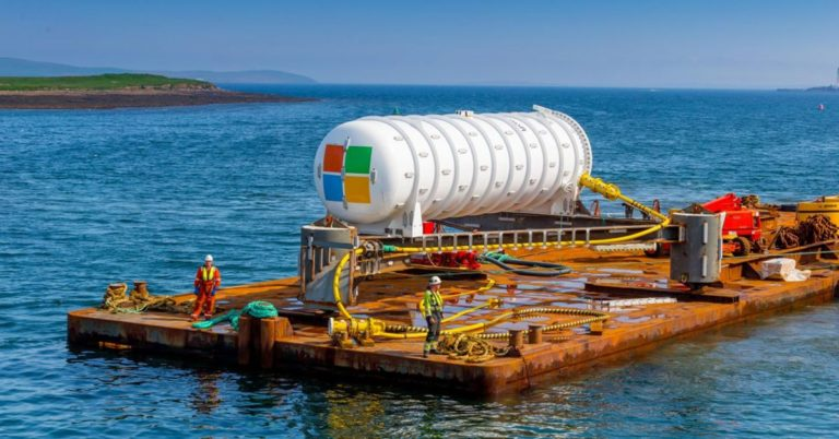 Microsoft's Underwater Data Center Is Actually Working, Says CEO