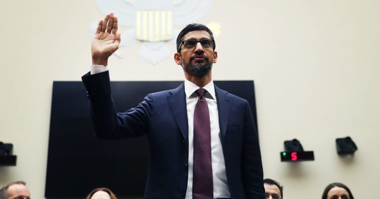 Congress Blew Its Hearing With Google CEO Sundar Pichai