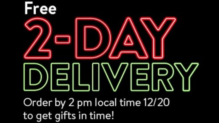 Last day for Christmas delivery: Amazon and Walmart deadlines and deals