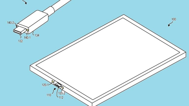 Microsoft patents innovative magnetic USB-C Surface connector