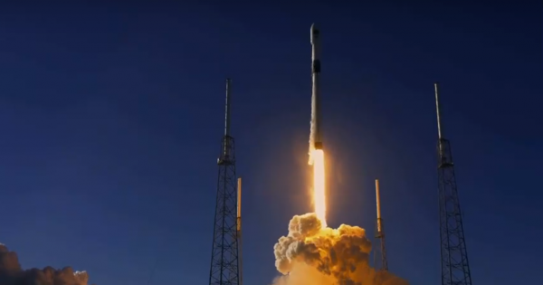 SpaceX Launches Next-Generation Air Force GPS Satellite