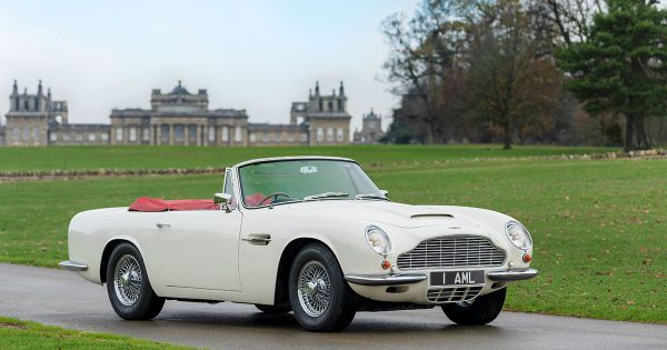 Aston Martin is Relaunching Some of Its Vintage Cars As EVs