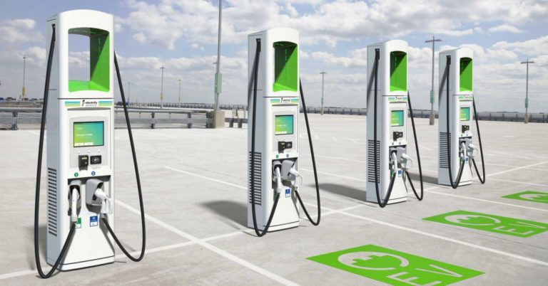 California Is Installing Chargers for a Type of Electric Car That Doesn't Exist Yet
