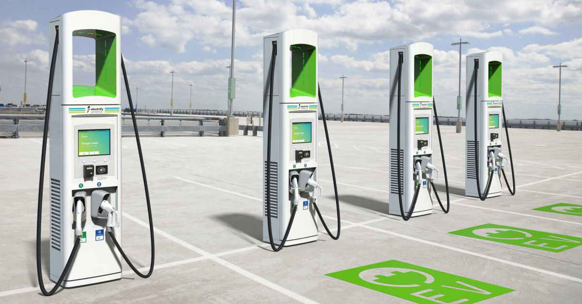 california chargers electric cars