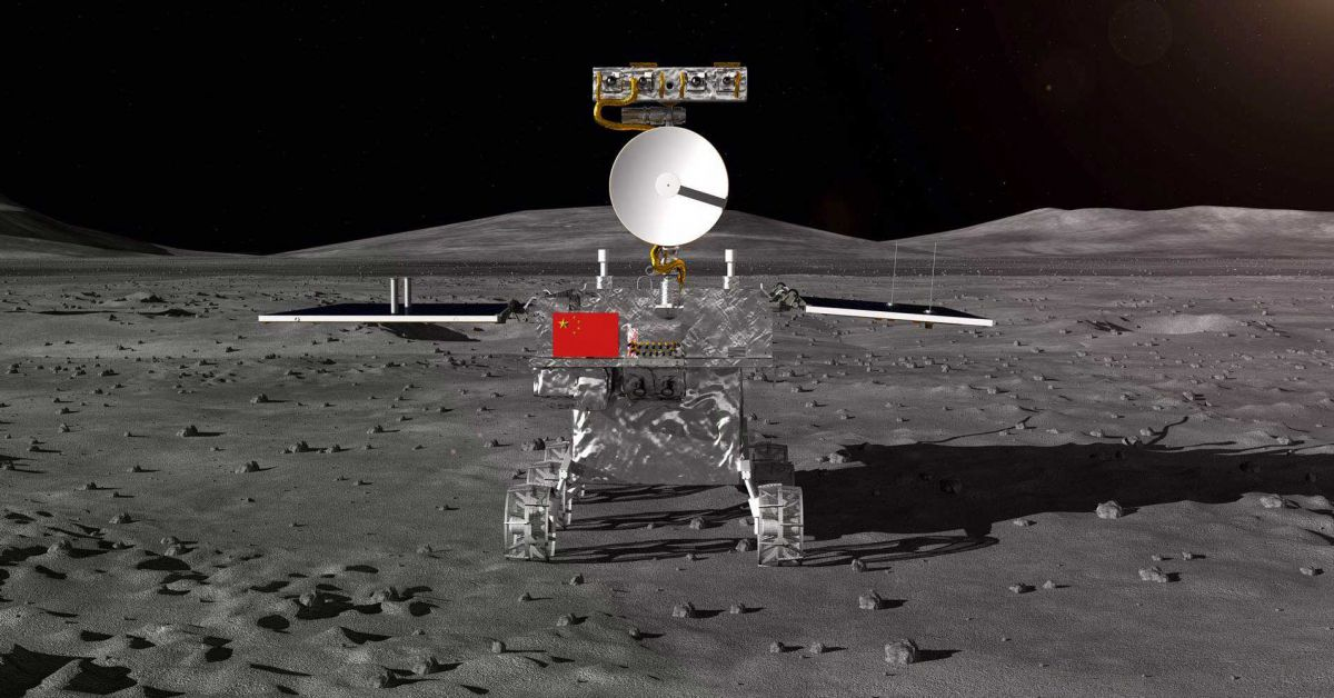 china change 4 far side of the moon probe rover