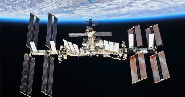 Hole Was Drilled From Inside Space Station
