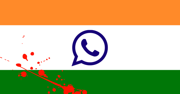 India's Government Blames Facebook's WhatsApp for Mob Violence