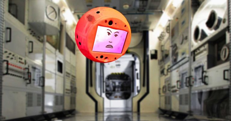 Watch the ISS's New AI Robot Companion Act Like Kind of a Brat