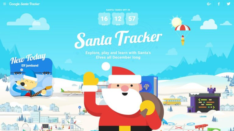 The Google Santa Tracker is back and bigger than ever for 2018