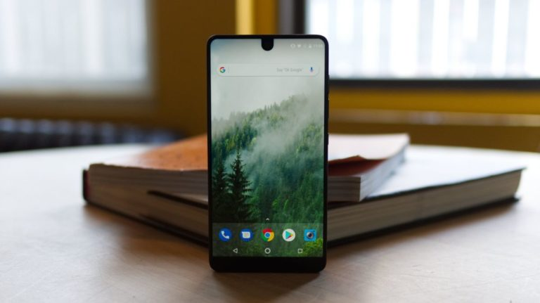 It's the end of the road for the Essential phone, but a successor is coming