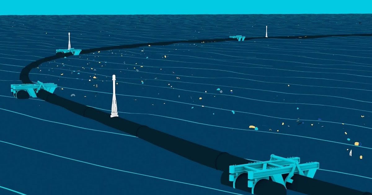 ocean cleanup barrier issues