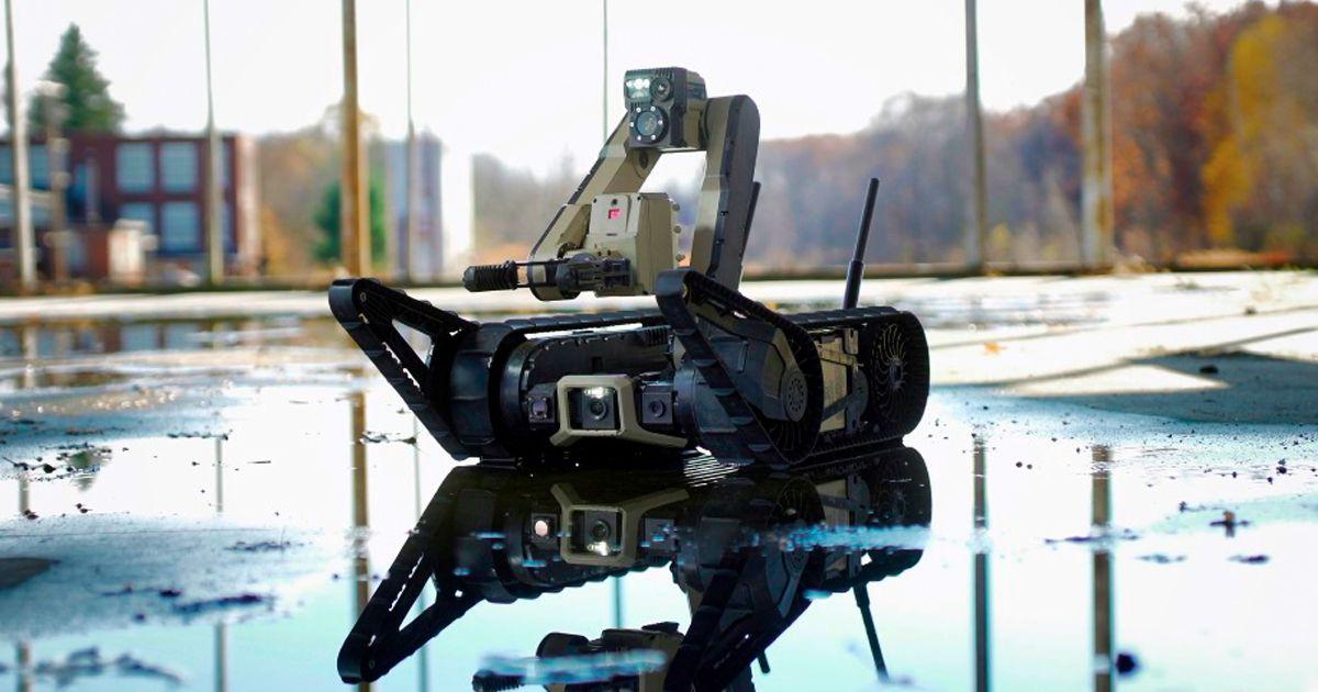 pentagon thousands battlefield robots