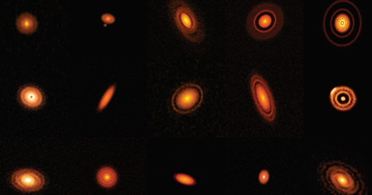 Beautiful New Images Show Clouds of Dust Forming Into Planets