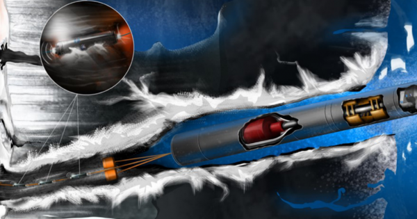 NASA's Nuclear-Powered Tunneling Bot Could Hunt for Life on Europa