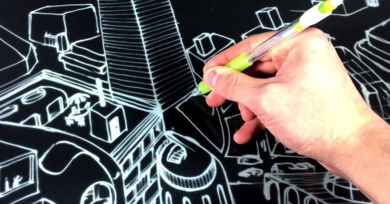 You Can Sketch on This E Ink Blackboard With Almost No Lag