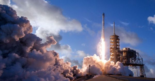 spacex smashed record commercial space launches