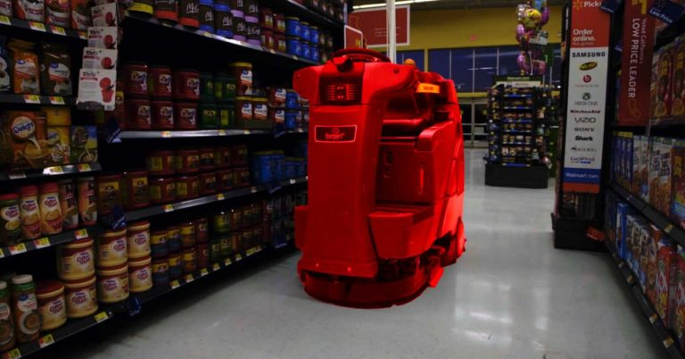 Walmart Is About to Deploy Hundreds of Robot Janitors