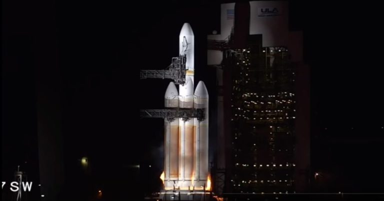 Watch a US Spy Satellite Launch Fail Seconds Before Liftoff