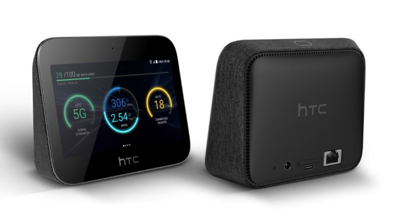 HTC 5G home hub gets you ready for superfast internet