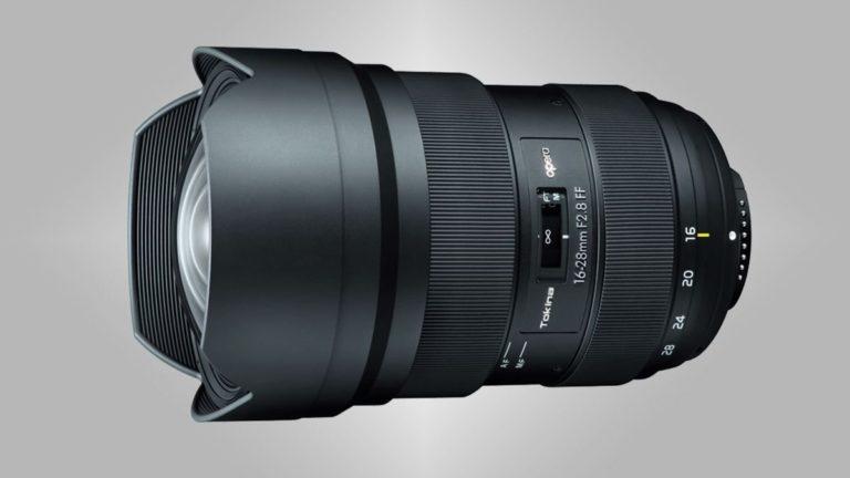Tokina unveils affordable opera 16-28mm f/2.8 FF lens