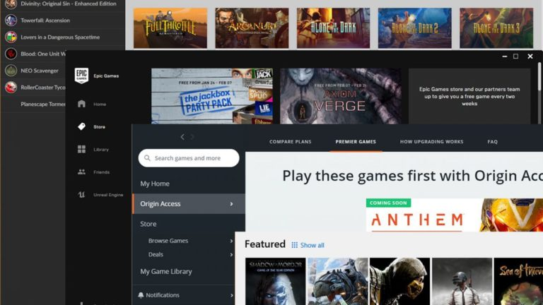 The best Steam alternatives for PC gamers