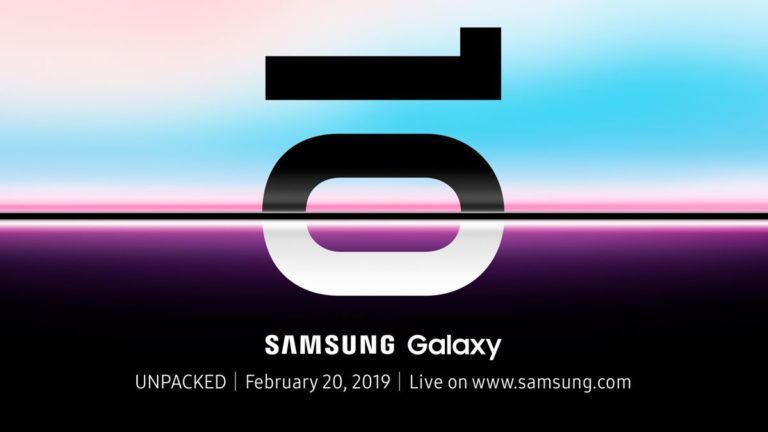 Samsung Galaxy S10 release date confirmed by Samsung's own site
