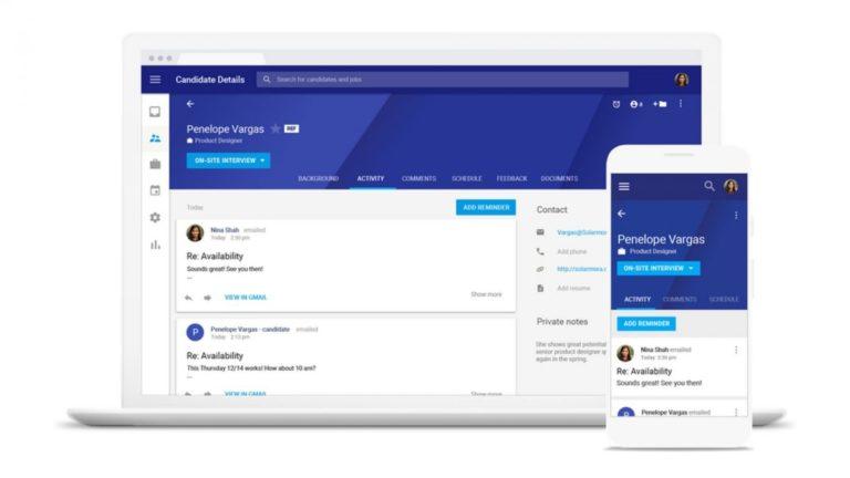 Google launches G Suite recruitment tool