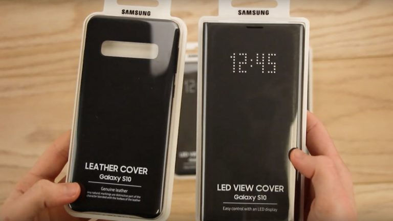 Official Samsung Galaxy S10 cases leak as the phone nears release