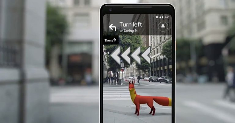 Google Is Rolling out AR Navigation for Its Maps App
